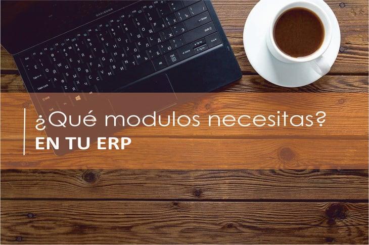 ¿Cómo saber los módulos que necesito en mi ERP?