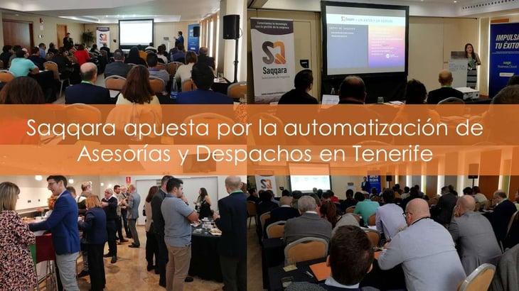 Saqqara apuesta por la automatización de Asesorías y Despachos en Tenerife