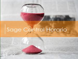 Sage Control Horarios