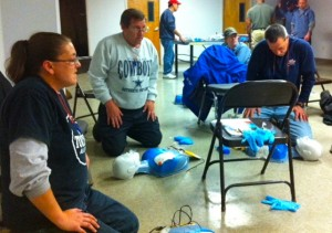 American Roll Form Conducts First Aid/CPR/AED Training