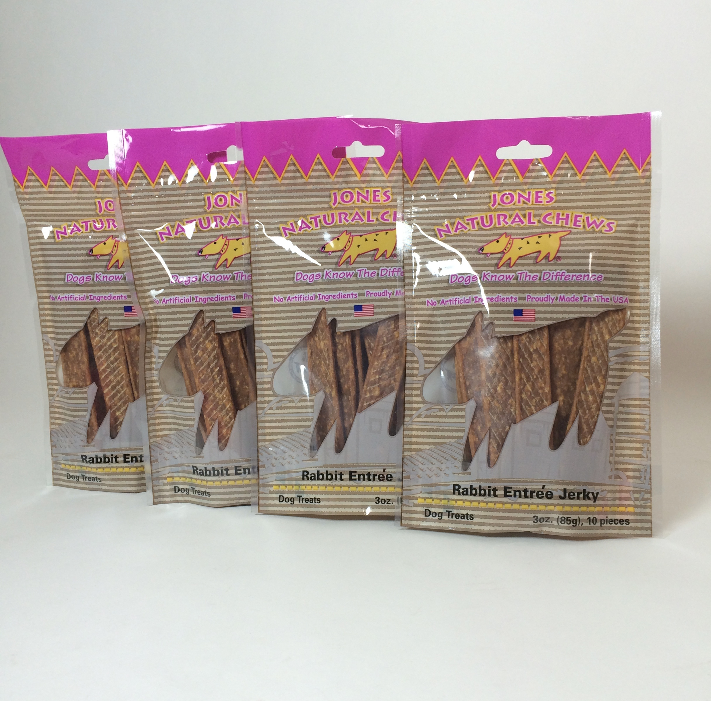 Jones All Natural Rabbit Jerky