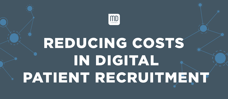 Reducing Costs in Digital Patient Recruitment[INFOGRAPHIC]