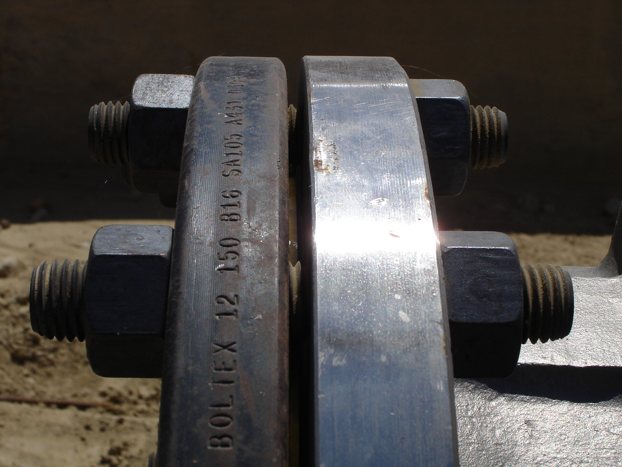 Stamped Steel Flanges : Working with flanges identification and specification