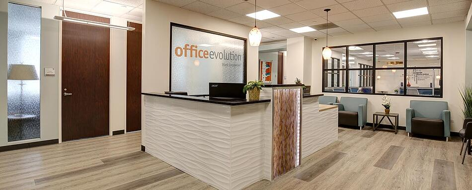 Second interior picture of our Cherry Creek Denver Office Evolution Location