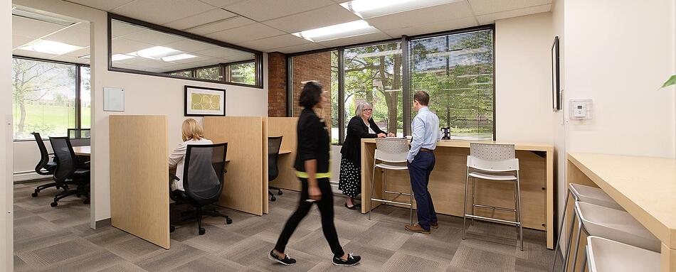 Sixth interior picture of our Littleton Office Evolution Location