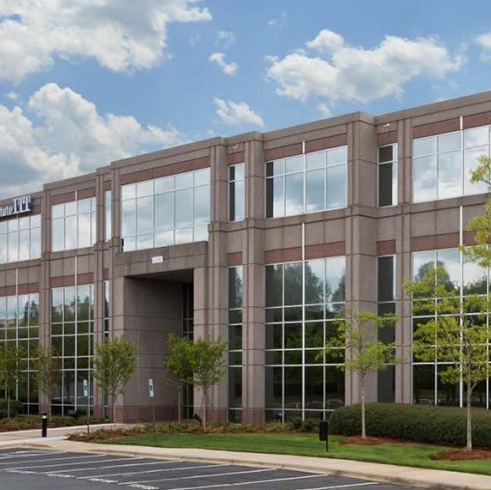 Exterior photo of our Charlotte - University Research Park location