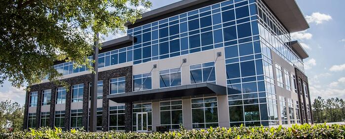 First interior picture of our Jacksonville Bartram Office Evolution Location