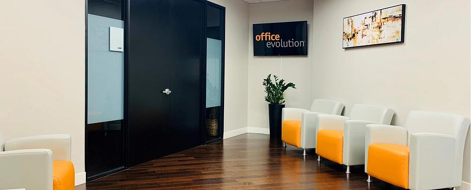 Second interior picture of our Ontario Office Evolution Location