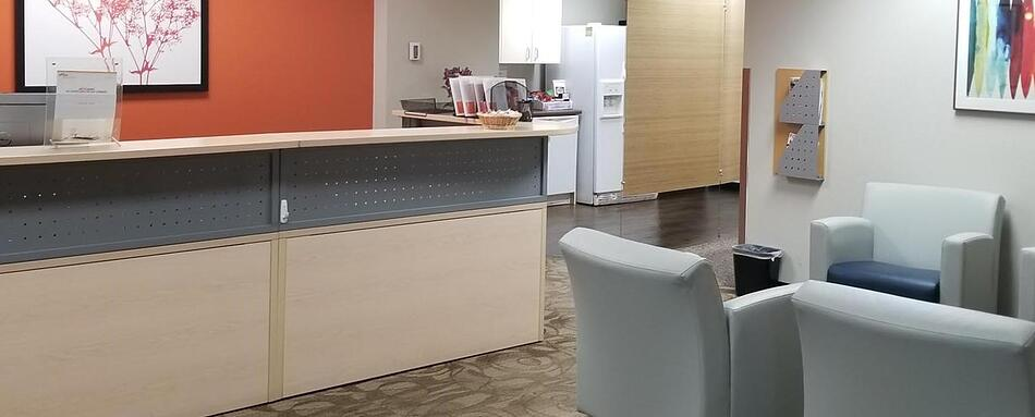 Second interior picture of our Park Meadows Lone Tree Office Evolution Location