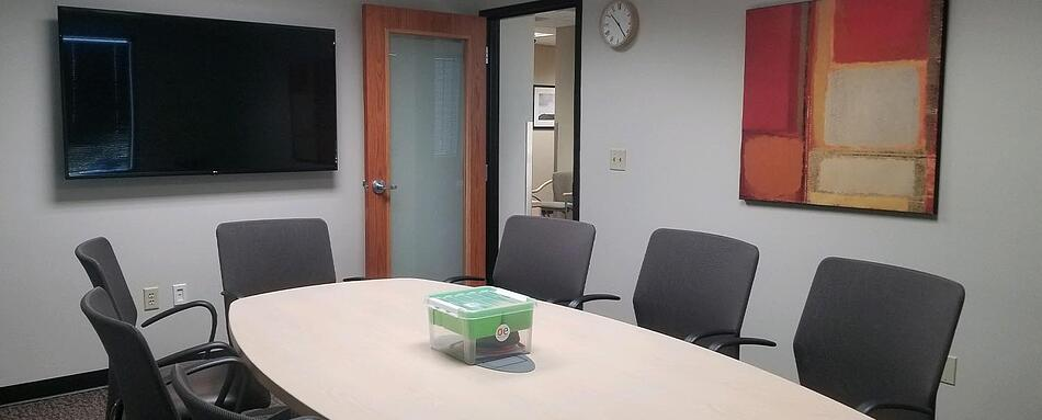 Fourth interior picture of our Park Meadows Lone Tree Office Evolution Location