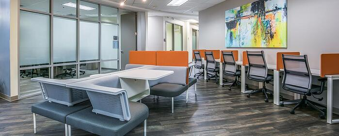 Third interior picture of our Jacksonville Office Evolution Location