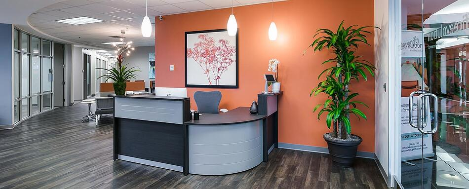 Second interior picture of our Jacksonville Office Evolution Location