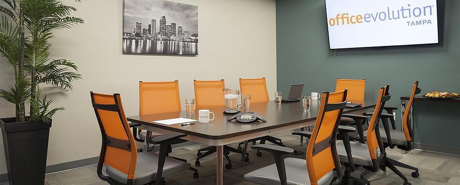 Fifth interior picture of our Tampa Office Evolution Location