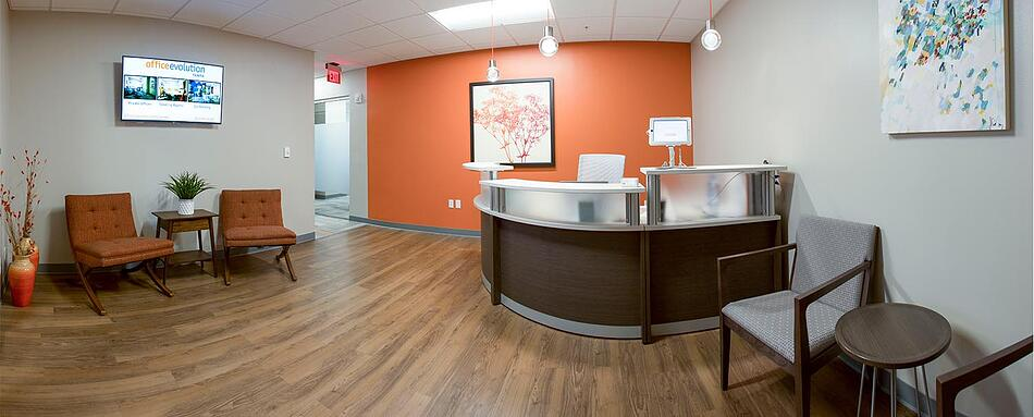 First interior picture of our Tampa Office Evolution Location
