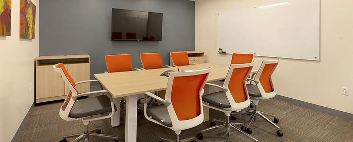 Second interior picture of our Downtown/BART Office Evolution Location