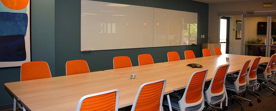 Fifth interior picture of our Los Gatos Office Evolution Location
