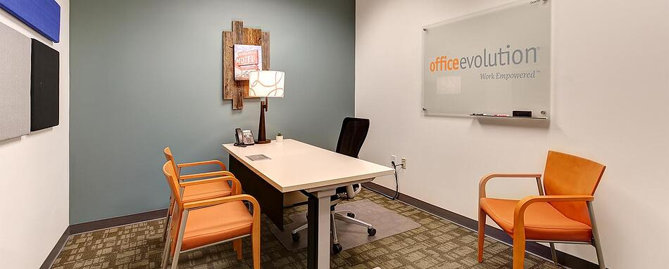 Sixth interior picture of our Belmar Lakewood Office Evolution Location