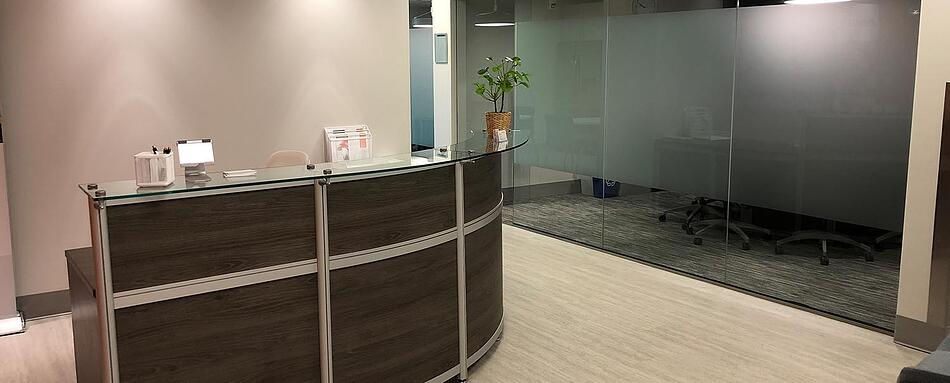 Second interior picture of our Westport Office Evolution Location