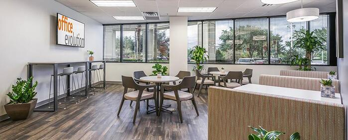 Seventh interior picture of our Jacksonville Office Evolution Location