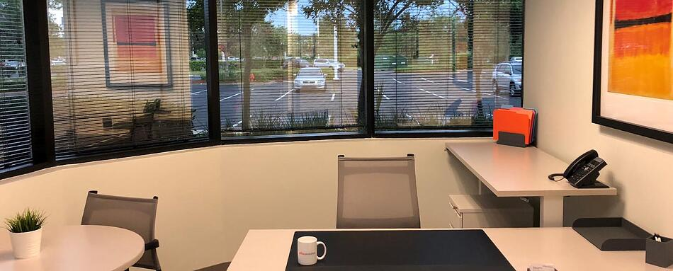 Sixth interior picture of our Jacksonville Office Evolution Location