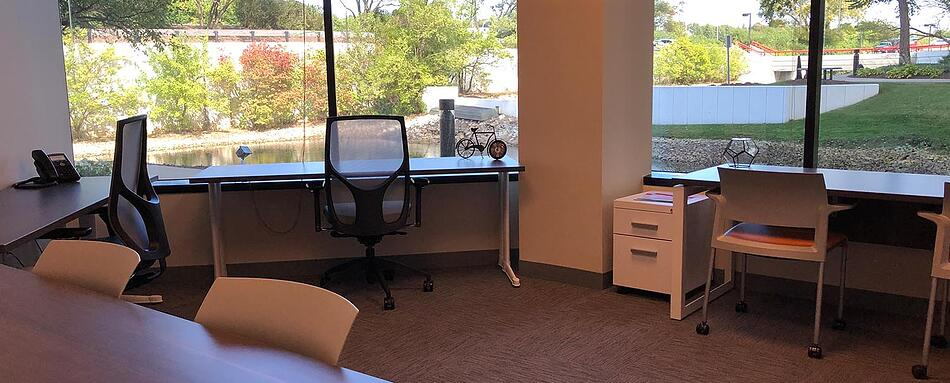 Eighth interior picture of our Downers Grove Lisle Office Evolution Location