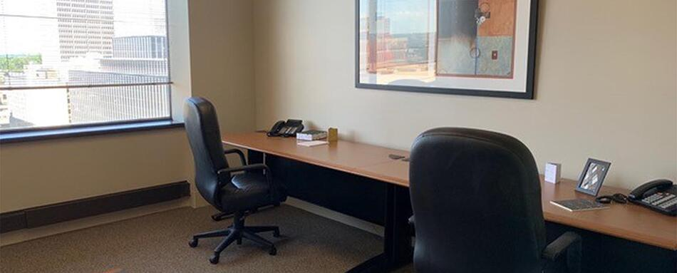 Third interior picture of our Clayton St. Louis Office Evolution Location