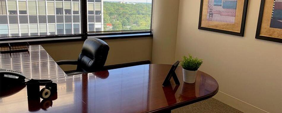 Second interior picture of our Clayton St. Louis Office Evolution Location