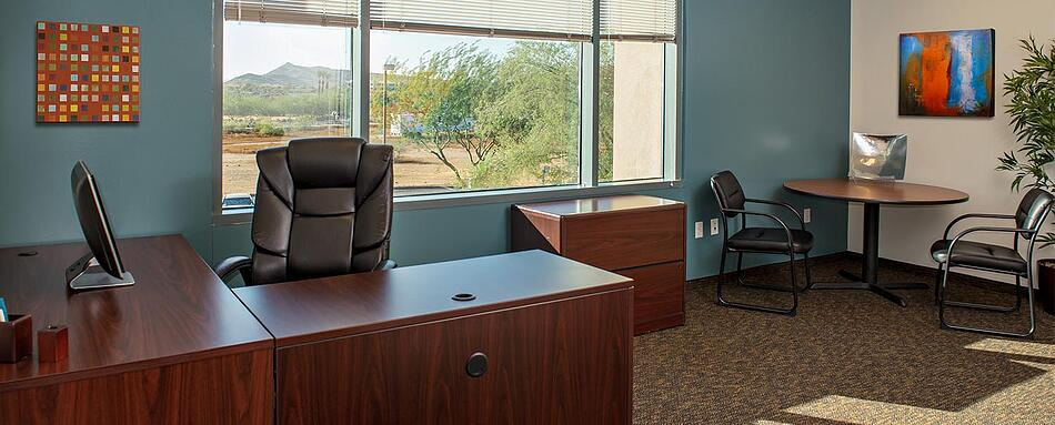 Seventh interior picture of our North Phoenix Office Evolution Location