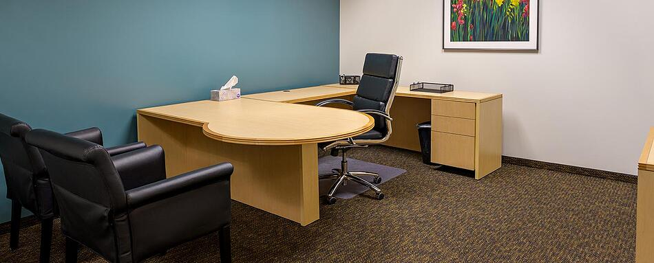 Sixth interior picture of our North Phoenix Office Evolution Location