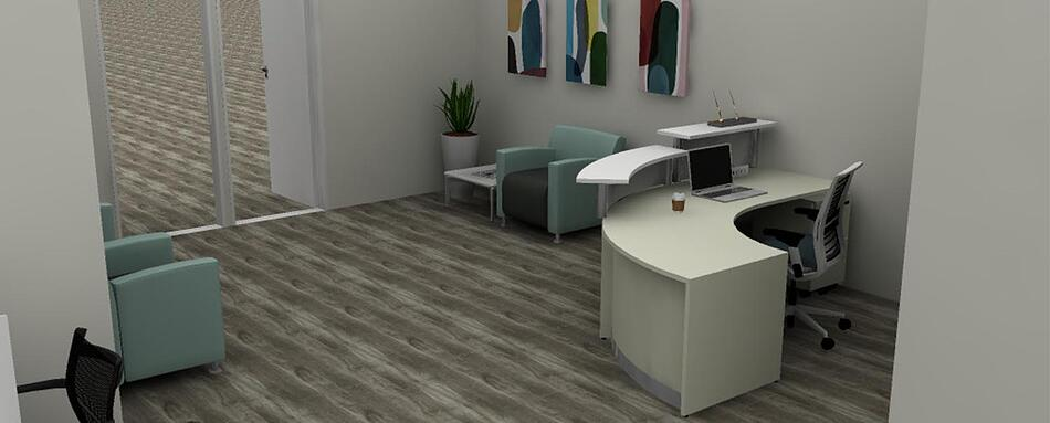 Fifth interior picture of our Plantation Office Evolution Location