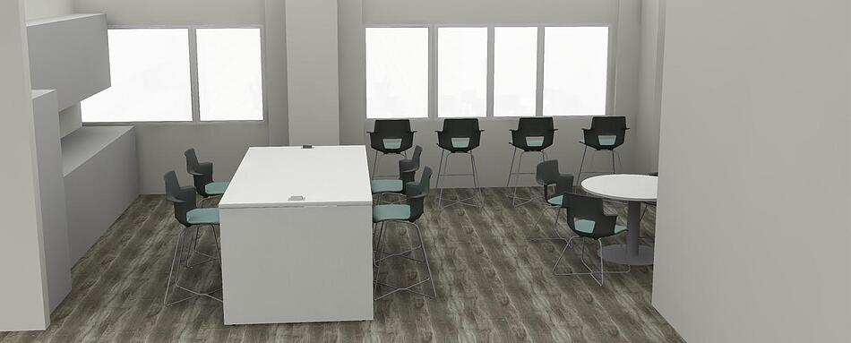 Third interior picture of our Plantation Office Evolution Location