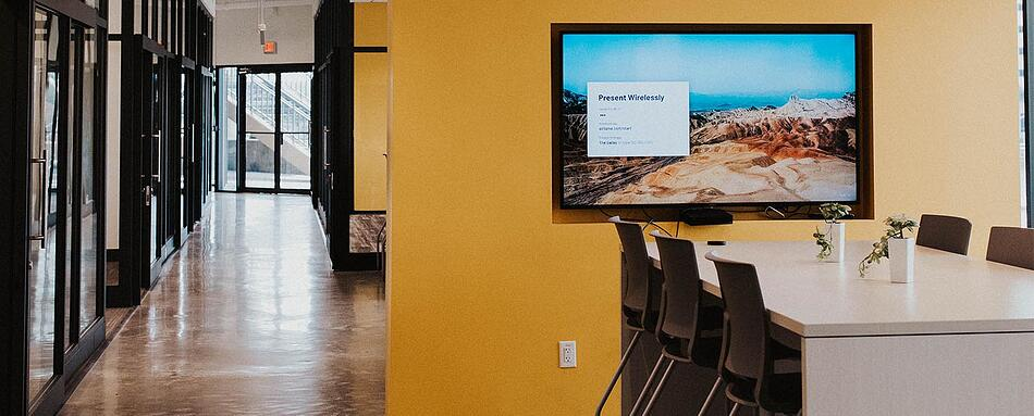 Third interior picture of our Harbour Island Tampa Office Evolution Location