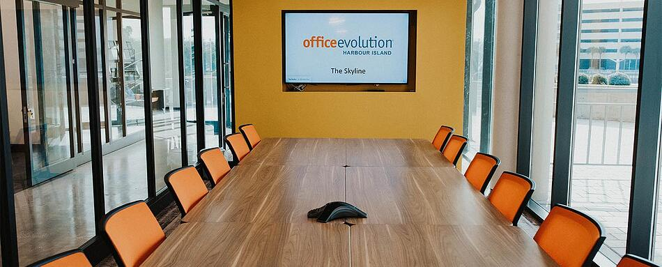 Sixth interior picture of our Harbour Island Tampa Office Evolution Location