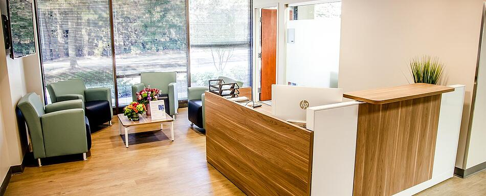Second interior picture of our Dunwoody Perimeter Office Evolution Location