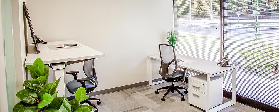Third interior picture of our Dunwoody Perimeter Office Evolution Location