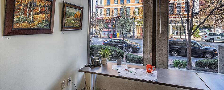 Fifth interior picture of our Downtown Boise Office Evolution Location