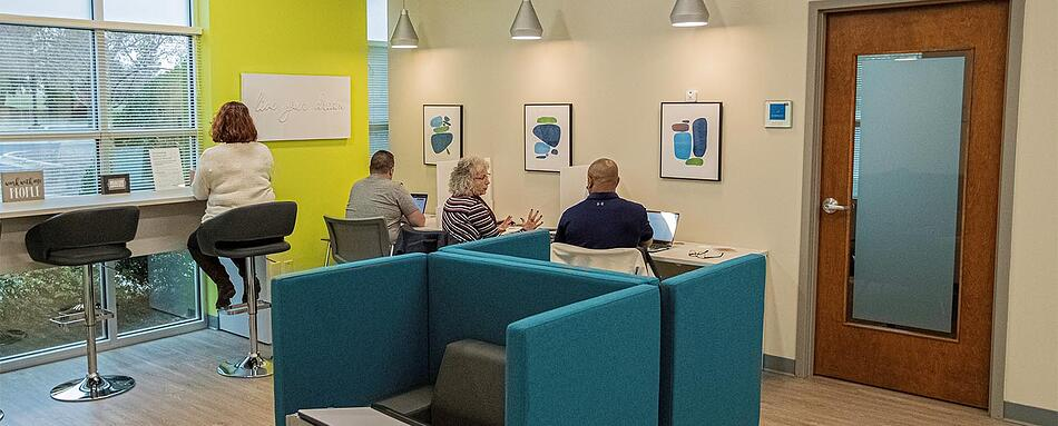 Second interior picture of our High Point Office Evolution Location
