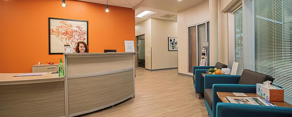 First interior picture of our High Point Office Evolution Location