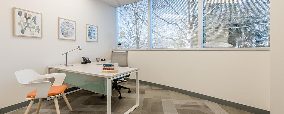 Seventh interior picture of our Tysons Corner Office Evolution Location