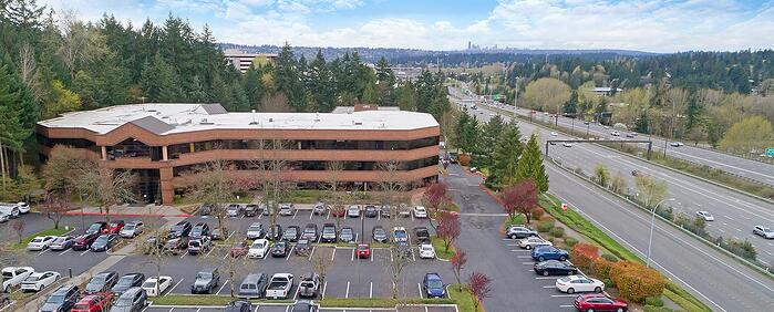 Second interior picture of our Bellevue South Office Evolution Location