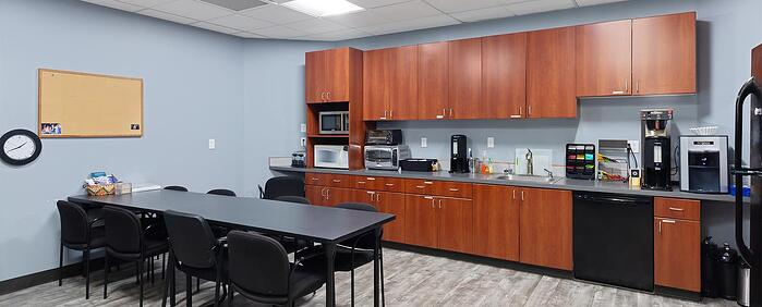 Eighth interior picture of our Bellevue South Office Evolution Location