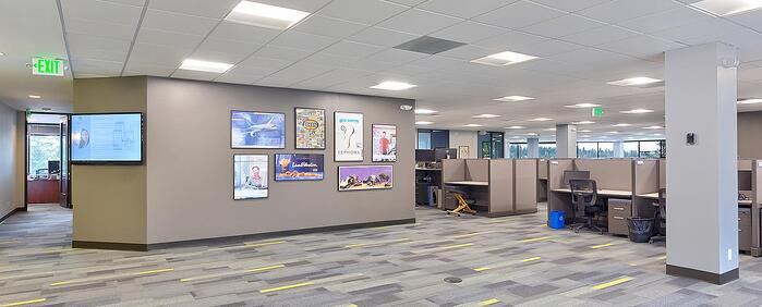 Ninth interior picture of our Bellevue South Office Evolution Location