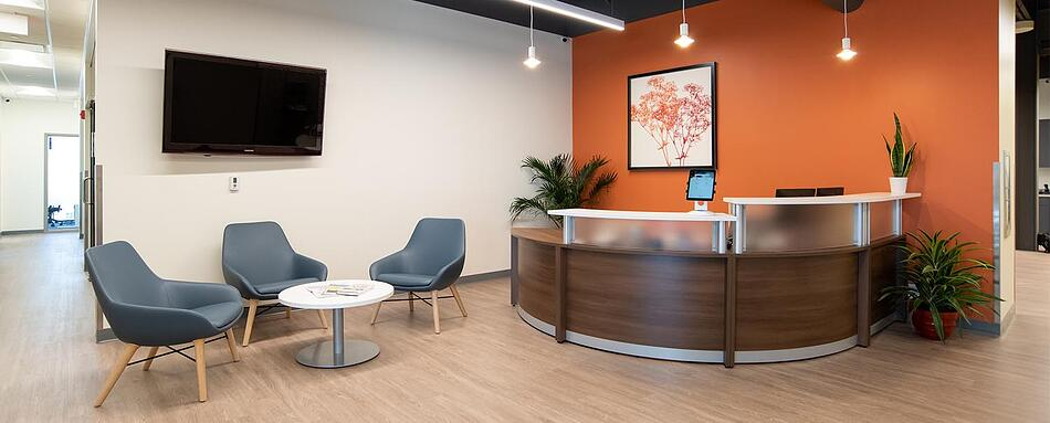 Fifth interior picture of our Fishers Office Evolution Location