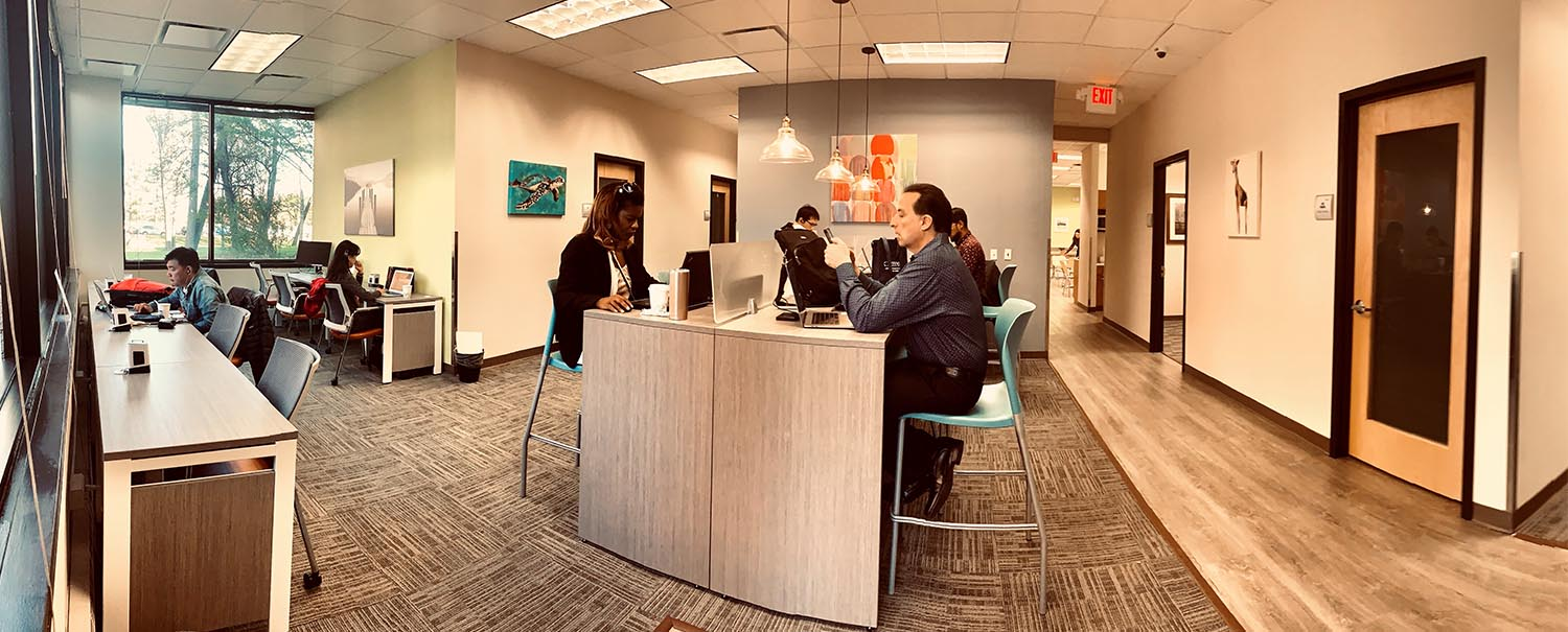 Tenth interior picture of our Northern New Jersey Hackensack Office Evolution Location