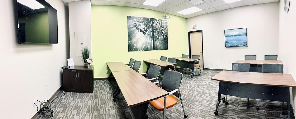 Ninth interior picture of our Northern New Jersey Hackensack Office Evolution Location