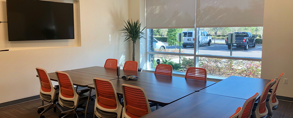 Seventh interior picture of our Jacksonville Bartram Office Evolution Location