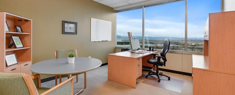 Third interior picture of our Interlocken Broomfield Office Evolution Location