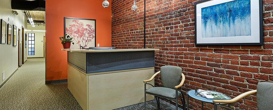 Third interior picture of our Downtown Denver Office Evolution Location