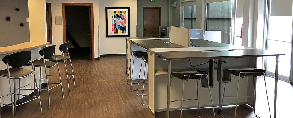 Fourth interior picture of our Fort Collins Office Evolution Location