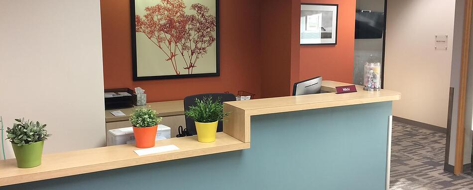 Third interior picture of our DTC Greenwood Village Office Evolution Location
